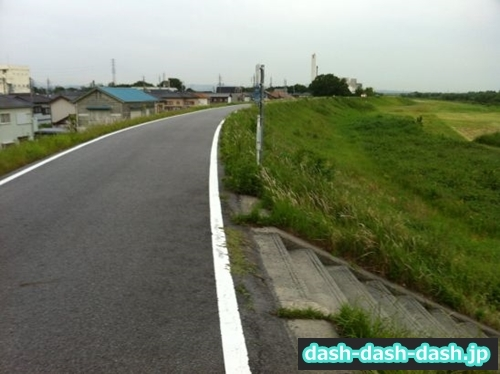 矢作川左岸(八帖南町付近)