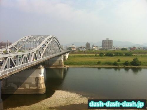忠節橋(長良川花火大会の穴場スポット)