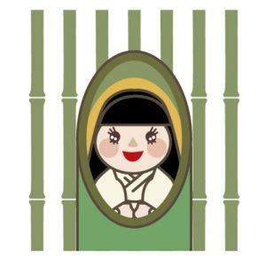 かぐや姫(竹取物語)のイラスト