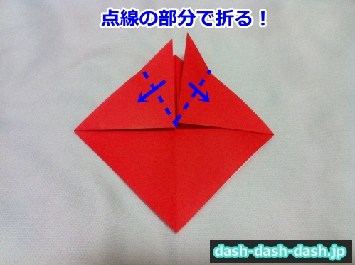 七夕 金魚 折り紙06