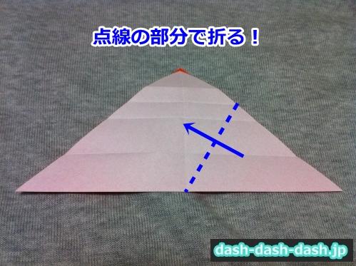 花火 折り紙 折り方 簡単07