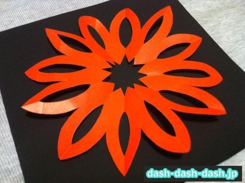 花火 折り紙 折り方 簡単14