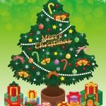 クリスマスツリーの飾り付けをする時期は?本場に合わすならこの日!