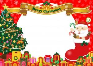 クリスマスツリー 折り紙 平面