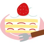 ケーキの切り方!包丁カットのコツは?いちごは?奇数の場合は?
