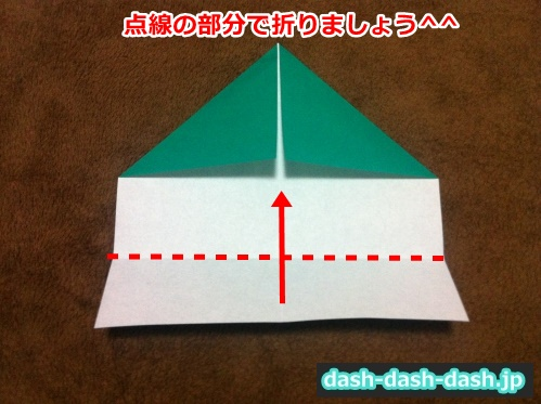 クリスマスツリー 折り紙 平面04