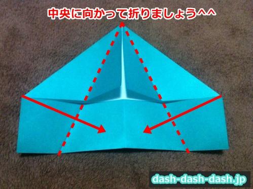 クリスマスツリー 折り紙 平面05