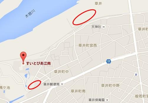 江南 花火 駐車場01