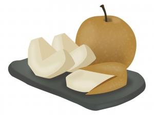 梨のイラスト