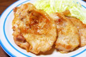 豚肉のしょうが焼き(生姜焼き)