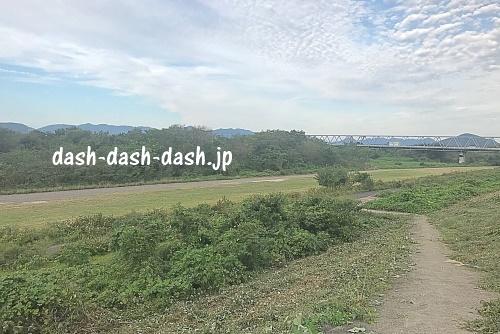 木曽川河川敷臨時駐車場(江南緑地公園)01