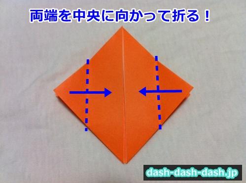 かぼちゃ 折り紙 ハロウィン22