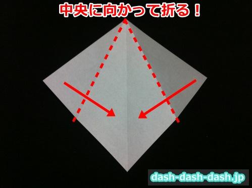 ハロウィン 帽子 折り紙03