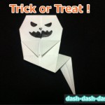 ハロウィン おばけの折り紙!簡単な折り方を画像付で1ステップずつ!