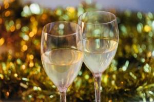 シャンパンワイングラス