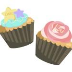 マフィンとカップケーキの違いは?見た目・材料・由来に注目!
