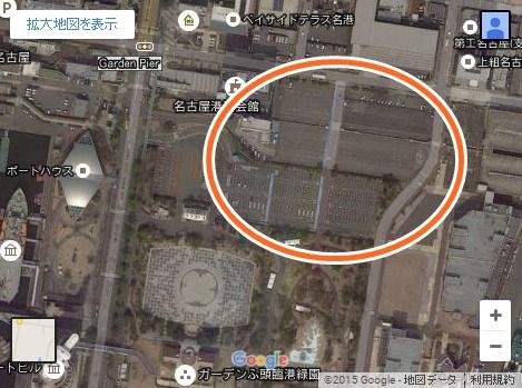 名古屋港 花火 クリスマス 2015 03