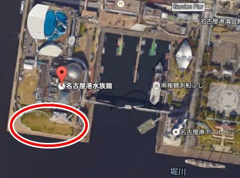 名古屋港 花火 クリスマス 2015 01