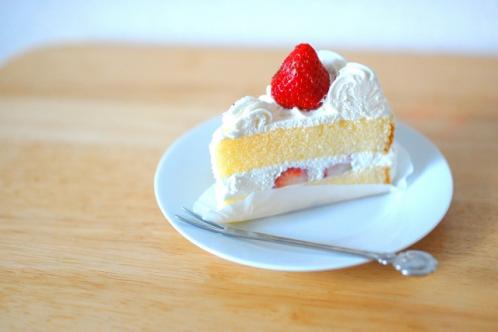 苺(いちご・イチゴ)のショートケーキ