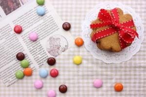 クッキー ビスケット カラフルチョコレート