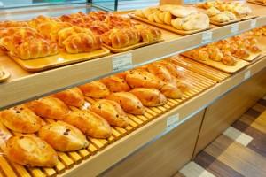 パン屋さんの店内