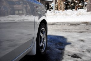 雪とタイヤ