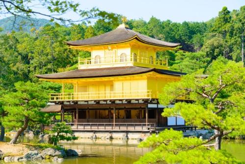 京都金閣寺(鹿苑寺)