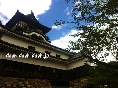 秋の犬山城02