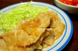 豚肉の生姜焼き(豚の生姜焼き)