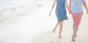 海岸デート(砂浜)