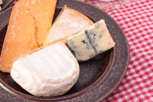 いろいろな種類のチーズ