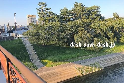明代橋北東01(岡崎花火穴場スポット)