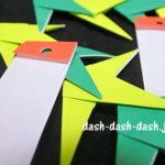 短冊の折り紙の折り方(作り方)!七夕飾りに子供と作ろう
