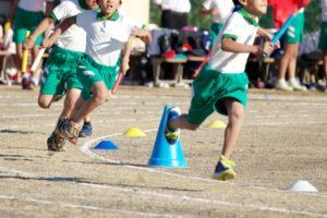小学校の運動会(リレー)