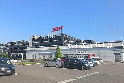 ZENT岡崎インター店02(岡崎花火穴場スポット)