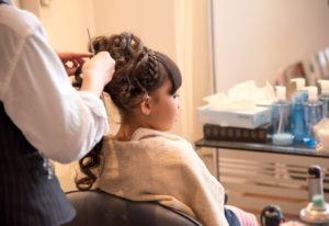 七五三の髪型セット(美容室)