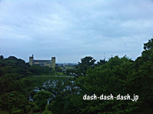大池公園展望台からの眺め