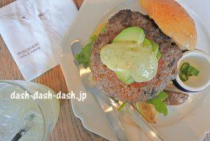 マカロニ カフェ&ベーカリーのハンバーガーランチ