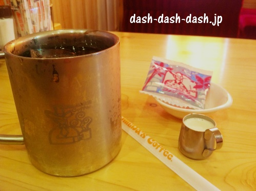 コメダ珈琲店のドリンクおすすめメニュー第5位のアイスコーヒー