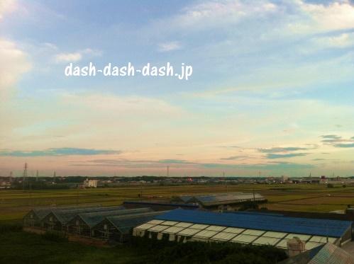 田原祭り花火大会の穴場スポット・吉胡貝塚史跡公園からの眺め