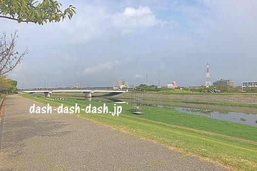 逢妻川河川敷(ウィングアリーナ北)