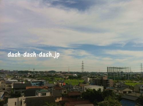日進夢花火の穴場スポット・岩崎城址公園からの眺め