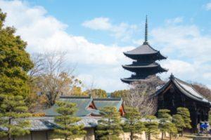 京都・東寺の五重塔