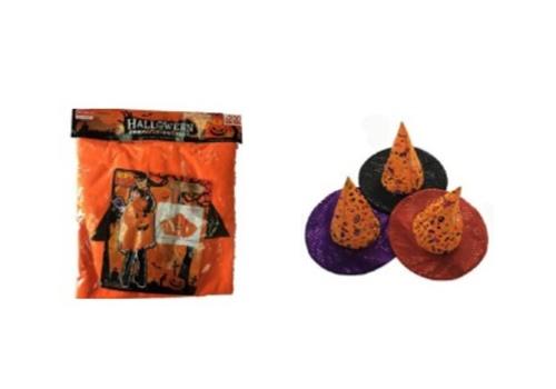 ダイソーで揃うかぼちゃおばけのハロウィン仮装コーデ02