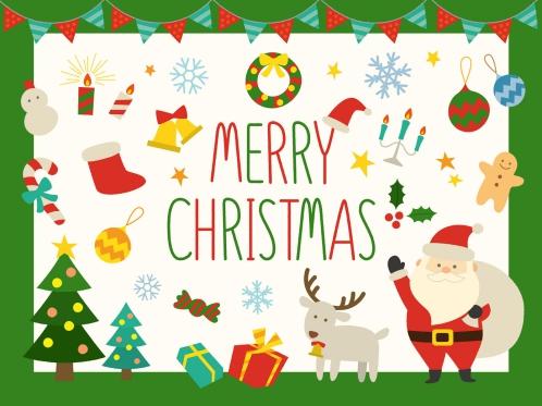 クリスマスのイラスト(小学生女の子クリスマスプレゼント人気)