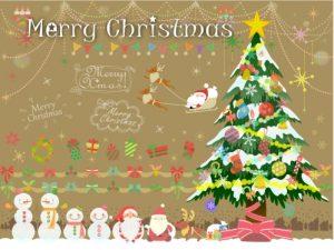 クリスマスのイラスト(3歳4歳の男の子へのクリスマスプレゼント)