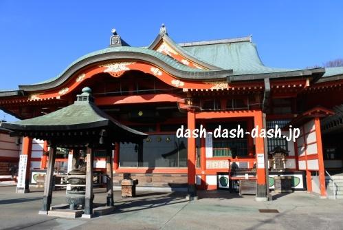 犬山成田山の本堂