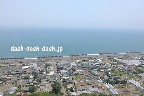 久能山東照宮からの駿河湾の眺め01