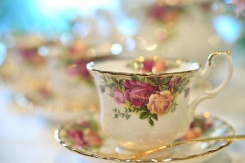 紅茶のティーカップ
