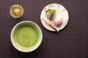 抹茶とお茶菓子(茶会)
